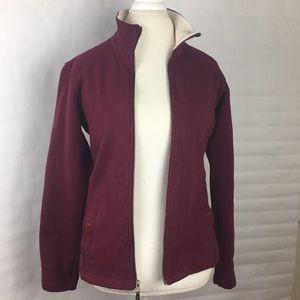 Warm Columbia fleece lined jacket. Size Small.